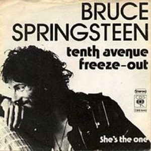 Tenth Avenue Freeze-Out single record sleeve