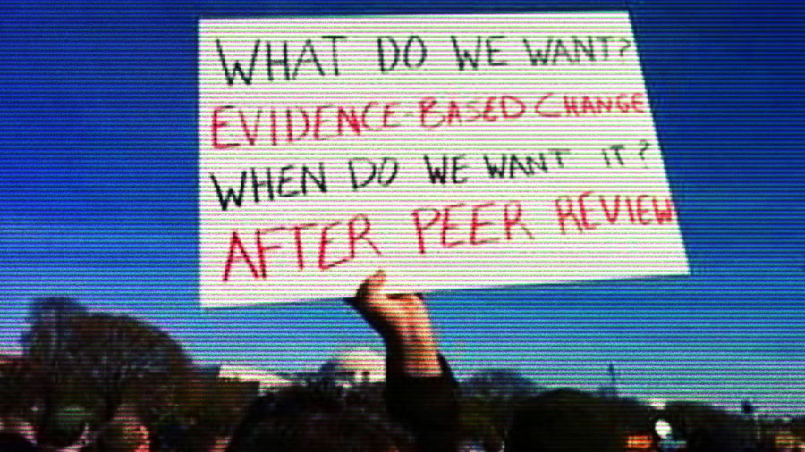 A demand for evidence-based change