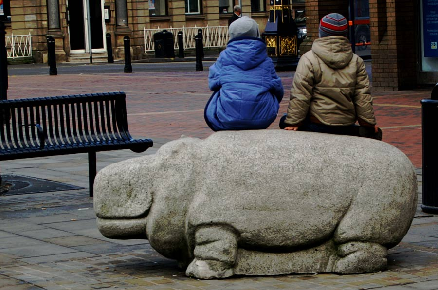 A photo of the Walsall Hippo
