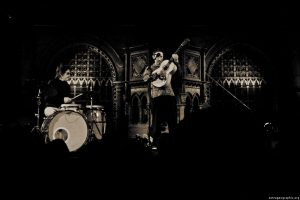 Jonathan Richman and Tommy Larkins at the Union Chapel, London, 2012