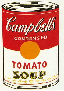 Andy Warhol - Soup can