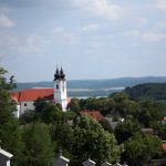 View across the village of Tihany