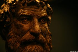 """Sophisticated: Statue of the """"philosopher"""" - Antikythera shipwreck"""