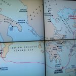 Proposed route of the ship that sank near Antikythera