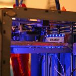 The Ultimaker 3d printing machine