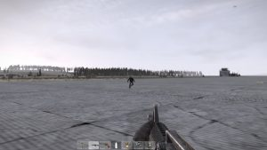 Zombies infest the airfield