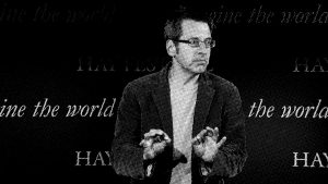 George Monbiot at the Hay Festival