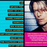 David Bowie High Line Festival poster